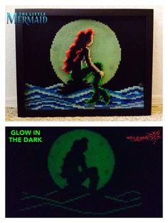 The Little Mermaid (Glow in the Dark) by RockerDragonfly