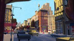 carlos zaragoza ▪ visual storytelling - MR. PEABODY & SHERMAN / 2014 / DreamWorks Animation / Visual Development Artist NY Upper West Side /...