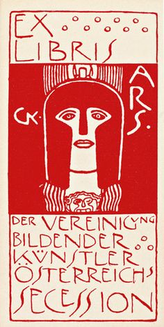 Gustav Klimt (1862-1918) para die Vereinigung bildender Künstler österreichs Secession - Austria, 1897