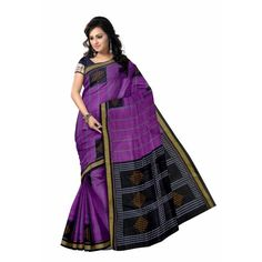 This is the latest designed Bomakai cotton saree with best buti design. This saree was made by pure cotton thread. It gives you a smart & stunning look.