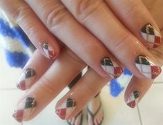 Day 333: Pretty Patterned Nail Art - - NAILS Magazine
