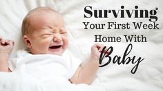 One of the most exciting and daunting parts of having a baby is that first week you bring them home. Whether it's your first child or your fourth child, it's a learning process, transitioning your newest little one into your world and family life. You get to know your little one and they get to …