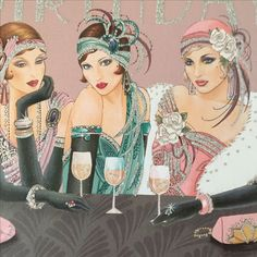 Vintage Girls night out