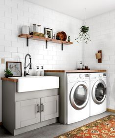 48 Modern Laundry Room Makeover Ideas for Your House 48 Modern Lau. 48 Modern Laundry Room Makeover Ideas for Your House 48 Modern Laundry Room Makeover Room Makeover, Room Design, Laundry Mud Room, Interior, Basement Laundry Room, Home Decor, Room Remodeling, House Interior, Modern Laundry Rooms