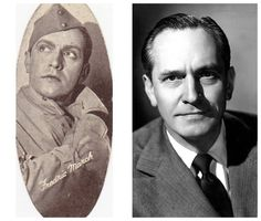 Fredric March-Army -1917-WW1-commissioned as a Lieutenant (Actor)