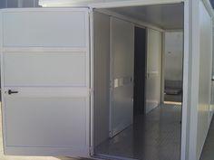 Monoblocco uso SHELTER Dimensioni 500x250x240h interna Deposito Bombole e Impianto Gas Personalizzato