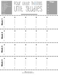 Good Work Academy Free Printables  School Year