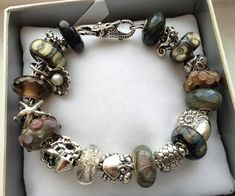 Design your own photo charms compatible with your pandora bracelets. Earthy Beach by Heather at Trollbeads Gallery Forum