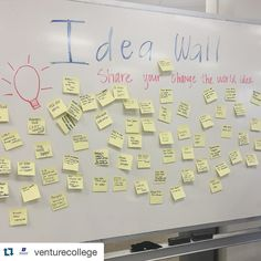 #Repost @venturecollege  We asked a ton of #boisestate students what their idea to change the world was and this is what we got.  A lot of environmentally conscious social impact focused responses.  Needless to say the future is bright!