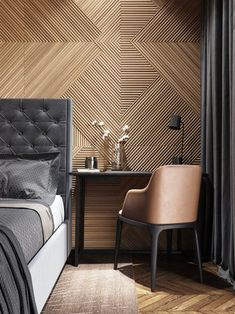 Wall Texture Design for Living Room. Wall Texture Design for Living Room. 99 Inspiring Modern Wall Texture Design for Home Interior Home Bedroom, Modern Bedroom, Bedroom Ideas, Modern Wall, Modern Hotel Room, Modern Decor, Modern Design, Luxury Hotel Rooms, Luxury Homes