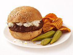 Spiced Burgers With Cucumber Yogurt Recipe : Food Network Kitchen : Food Network - FoodNetwork.com