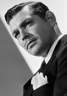 """williamclarkgable: """" Clark Gable photographed by Clarence Sinclair Bull, 1936 """""""