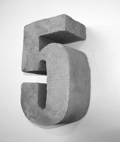 Images of Concrete Numbers and Letters