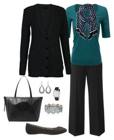 """""""Work Outfit, Plus Size Outfit"""" by jmc6115 on Polyvore featuring Doublju, maurices and Geneva"""