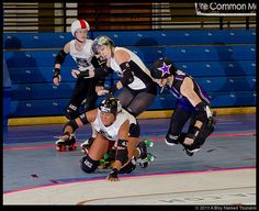 Flickr Search: charlotte | Flickr - Photo Sharing! - Roller Derby: The Cape Fear Rollergirls at the Charlotte Rollergirls, at the Grady Cole Center in Charlotte NC.