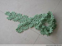 Crochet: Shawl scarf