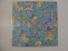 New Old Stock Gibson Baby Boy Wrapping Paper  by WhileSJsSleeping, $5.00