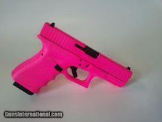 The Best Concealed Carry Guns For Women - Allgunslovers Pink Guns, Pink Hand Guns, Just In Case, Just For You, Glock Models, 9mm Pistol, Glock 9mm, Pink Pistol, Revolvers