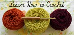 Crochet school - author of the Crafty Minx blog is putting lessons up for the month of October.  You can follow along as she posts them or go at your own pace.
