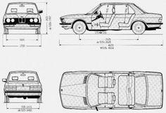 BMW Seria 5 E28 Sedan • Dane techniczne • AutoCentrum.pl