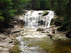 Mumlava falls, Harrachov, Czech republic