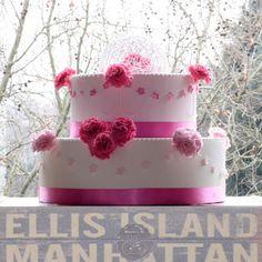 Wedding Cake in rosa
