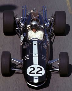 """Richie Ginther (Monaco 1967) by F1-history on DeviantArt Paul Richard """"Richie"""" Ginther (USA) (Anglo American Racers), Eagle Mk1 - Weslake (DNQ) 1967 Monaco Grand Prix, Circuit de Monaco"""