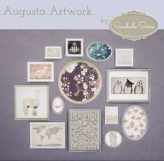 Augusta Artwork at Saudade Sims via Sims 4 Updates