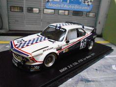 BMW 3.0 CSL Le Mans 1976 #76 Garage du Bac Depnic Coulon Motul Spark Res 1:43     eBay