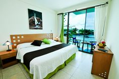 Vista al mar en torre principal Hotel Solymar #Galapagos #solymargalapagos #ecuador www.hotelsolymar.com.ec