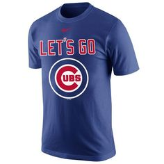 Chicago Cubs Nike 2015 Playoff Local T-Shirt - Royal - $19.99