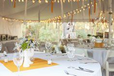fabric streamers tent wedding  loveisabigdeal.com