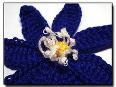 Anemone Hepatica crochet pattern