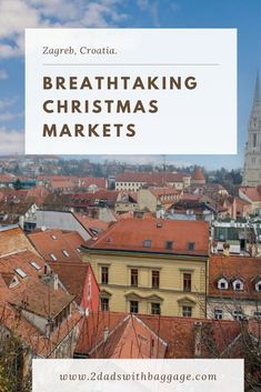 Croatia has the best Christmas Markets, and we have some recommendations about places to go and see when you visit the Christmas Markets in Croatia. Visit Croatia, Zagreb Croatia, Best Christmas Markets, Christmas Travel, Global Holidays, Winter Holidays, Travel Usa, Travel Tips, Mulled Wine