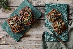 Svampepate | Pålæg til det vegetariske frokostbord Yummy Eats, Catering, Lime, Vegetarian, Cheese, Meat, Recipes, Food, Christmas
