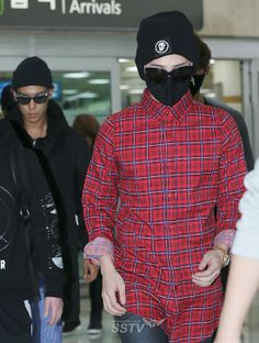 GD-TOP Arrival from Osaka
