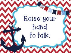 NAUTICAL THEME CLASSROOM MANAGEMENT TOOLS - TeachersPayTeachers.com