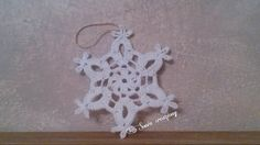 Crochet Videos, Xmas Crafts, Fabric Crafts, Snowflakes, Crochet Earrings, Miniatures, Knitting, Youtube, Instagram