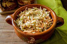 gotować! - Zimowa surówka Cabbage, Salads, Vegetables, Ethnic Recipes, Food, Essen, Cabbages, Vegetable Recipes, Meals