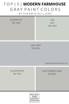 Paint Palette Selection — Melissa Joan Vincent - Best paint colors for whole house - Bedroom Paint Colors, Exterior Paint Colors, Paint Colors For Home, Living Room Colors, Calming Bedroom Colors, Small Bathroom Paint Colors, Modern Paint Colors, Neutral Living Room Paint, Magnolia Paint Colors