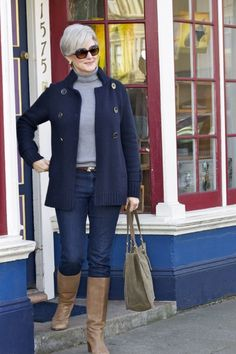 Fabulous After 40 StyleBlazer Beth knows what looks fab with jeans.