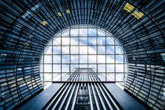 Septième ciel. Réhabilitation de la Maison de la Radio. Architectes : A.S. (Architecture Studio)
