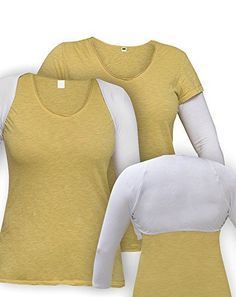 9efd6e07fa28f Kosher Casual Womens Modest 34 Sleeve Bolero Shrug XL White *** Check out  the