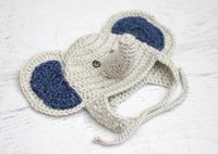 Baby Elephant Crochet Hat