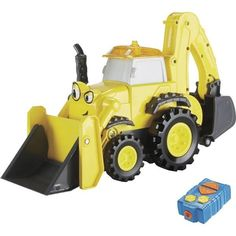 Bob the Builder Remote Control Full Throttle Scoop