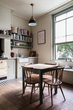 Food writer and author of 'Eat the Week' Anna Barnett invites us around to her gorgeous East London home to discuss her favourite dishes and what inspires her Interior Design, House Interior, House, Room, Home Kitchens, Interior, Home Decor, Home Remodeling, Kitchen Dining Room