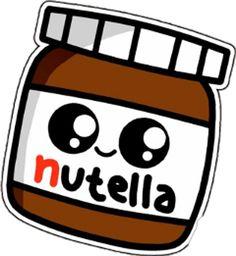 I ❤ nutella kawaii kawaii food nutellaaaaaa. Kawaii Girl Drawings, Cute Food Drawings, Cute Little Drawings, Cute Cartoon Drawings, Griffonnages Kawaii, Kawaii Disney, Cute Kawaii Girl, Foto Doodle, Doodle Art