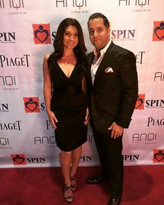 Attending Serving People in Need (SPIN)'s charity dinner gala at AnQi by the house of An, Costa Mesa, CA