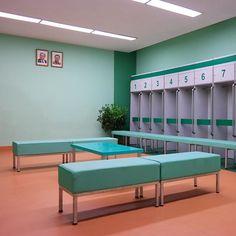 Locker room in the newly refurbished | WEBSTA - Instagram Analytics