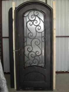 iron doors | Durable Wrought Iron Single Door